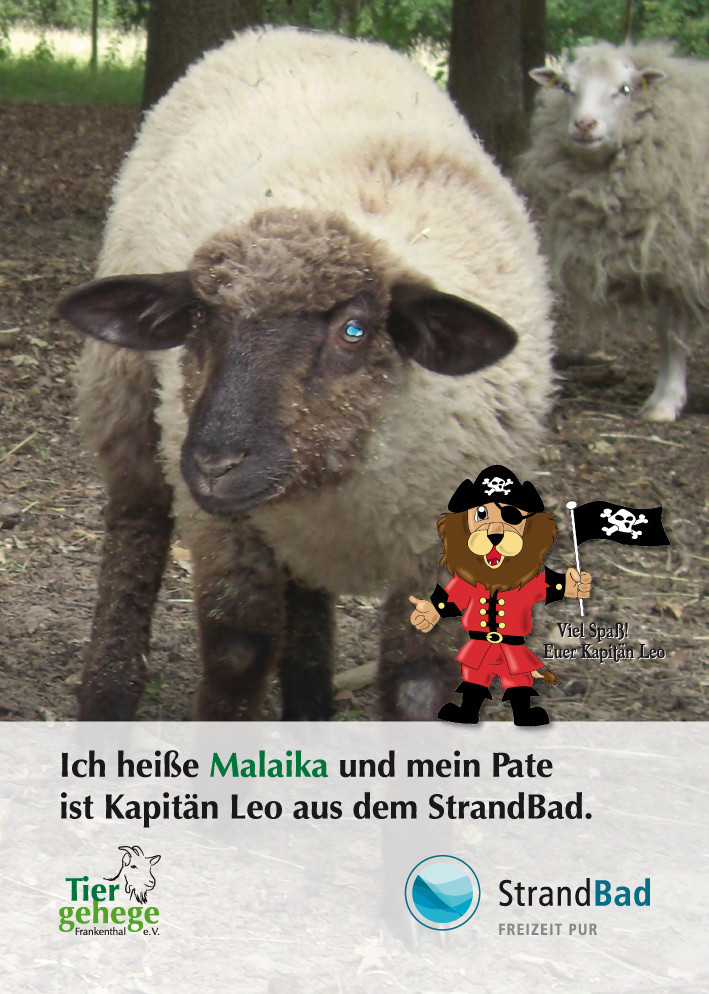 Kapitän Leo wird Pate